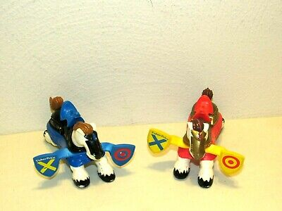 Fisher Price Great Adventures Castle Knights JOUSTING HORSES