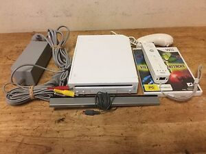 NINTENDO WII with one game Blackbutt Shellharbour Area Preview