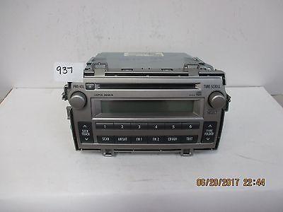 2011-13 Toyota Matrix CD Sat Radio D1818   86120-02C40 Toyota Sat-radio