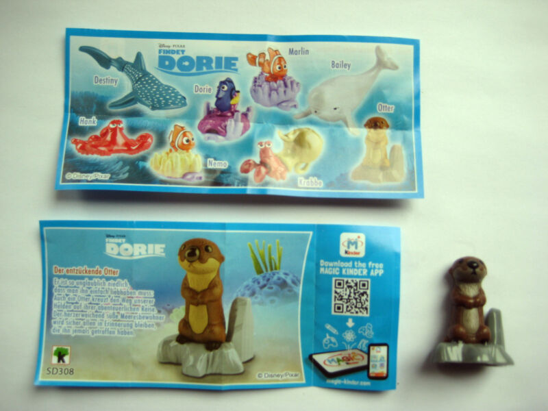 Findet Dorie  -  Der entzückende Otter  +  BPZ