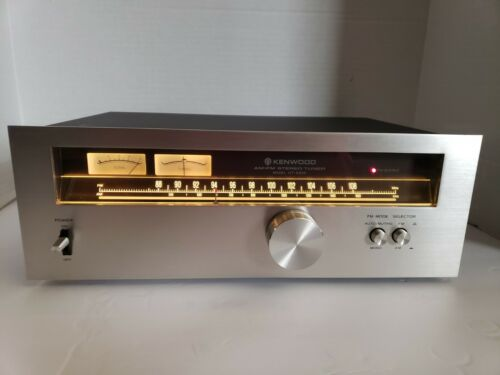 Kenwood KT-5500 AM/FM Stereo Tuner excellent condition