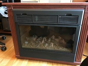 SMALL ELECTRIC OMISH FIREPLACE