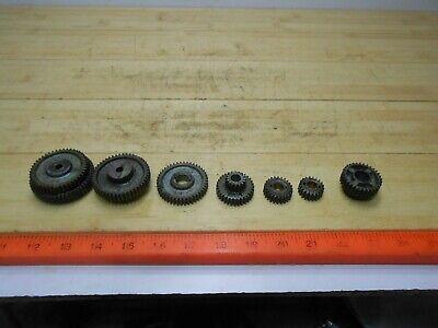 Sears Atlas Craftsman Dunlap 109 Metal Lathe Change Gears 10 Gears Total.