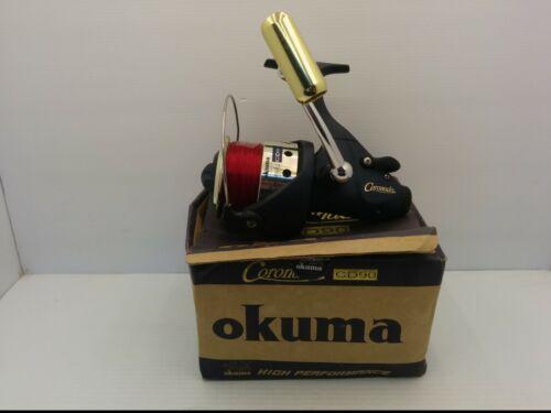 OKUMA CORONADO CD90 BAITFEEDER REEL, GEAR RATIO 4.5:1, 4 SS BALL BEARINGS