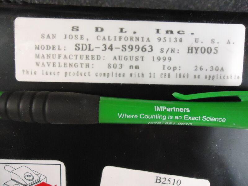 SDL, Inc. SDL-34-S9963 Laser Diode