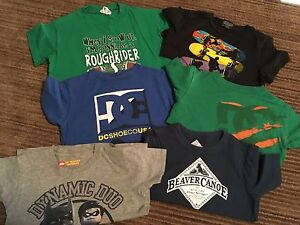 Boys size 6 tops (6 for $10)