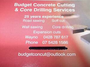 BUDGET CONCRETE CUTTING & CORE DRILLING SERVICES Brisbane City Brisbane North West Preview