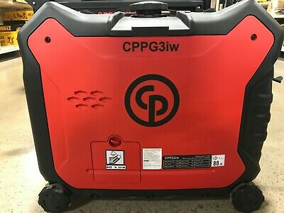 Chicago Pneumatic Cppg 3iw 3000w Portable Generator