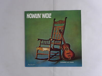 Howlin' Wolf Off The Record P-Vine Special PLP-838 Japan   LP