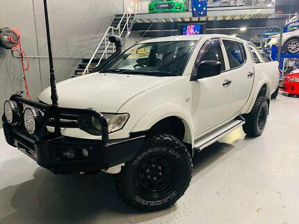 2013 Mitsubishi Triton GLX (4x4) Eastern Creek Blacktown Area Preview
