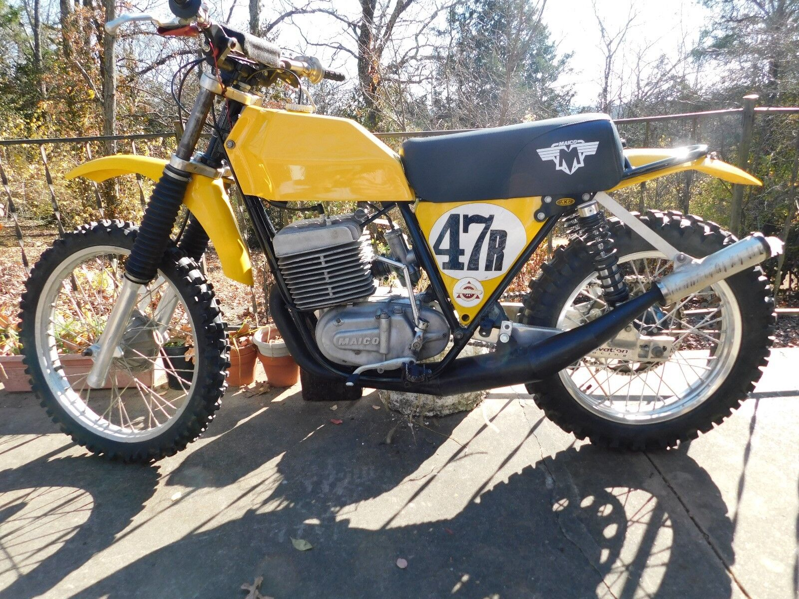 1973 Other Makes Maico 501  Maico 501 extremely rare