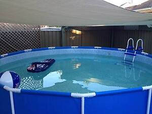 Swimming Pool with sand filter Dernancourt Tea Tree Gully Area Preview