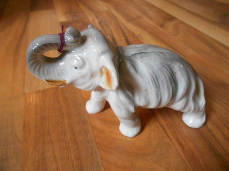 Old Vintage Wild Animal Elephant Japan Figurine Figure Home Decor Decorative
