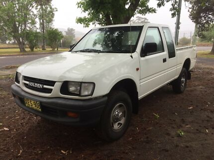 2001 Holden Rodeo - Space Cab Ute - AUTO - REGO