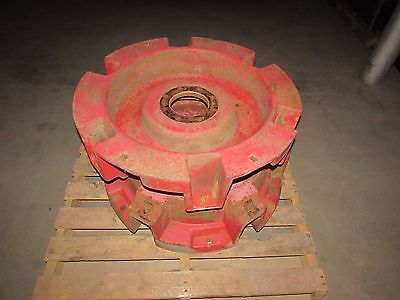 Massey Ferguson 1080 Tractor Rear Cast Centers For 38 Slide Out Rim