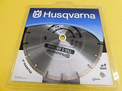 10 Oem Husqvarna Cutoff Saw Tsd-s Dri Disc Concrete Brick Stone 542761415
