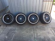 """Vendetta 18"""" staggered wheels South Plympton Marion Area Preview"""