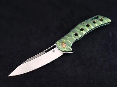 Knife Olamic cutlery Swish Wayfarer Elmax Titanium
