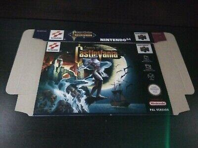 Castlevania Legacy Of Darkness - N64 / Nintendo 64 - Repro Box / PAL