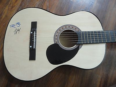 The Chainsmokers Signed Guitar Andrew Taggart Alex Pall 2X Band Coa Rare  Closer