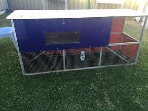 RABBIT HUTCH  2040cm x 900cm x 600cm Raby Campbelltown Area Preview