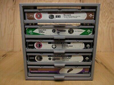 Hillman Hardware Parts Storage Cabinet 5 Drawer Steel Organizer With Drawer Stk