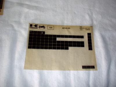KAWASAKI AR125  AR 125 B5  GEN PART CATALOGUE MICROFICHE