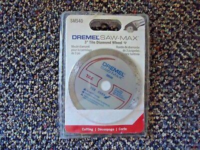 Dremel Saw - Max Nip  Sm540 3 Tile Diamond Wheel Great Item