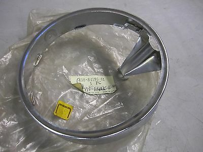NOS YAMAHA DT RD 100 125 175 200 250 360 400 XT 500 HEADLIGHT RING 498-84195-60 for sale  Newville