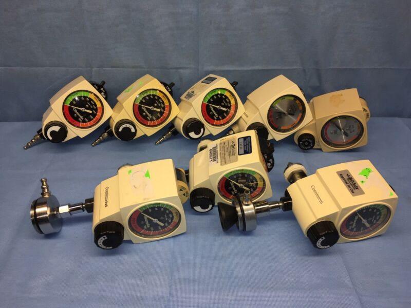 Lot Of 8 Ohmeda 200 / Ohio Continuous Vacuum Regulator 0-200mmHg