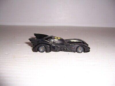 Vintage 1989 ERTL DC Comics Batman Batmobile Die-Cast Toy Car #15296