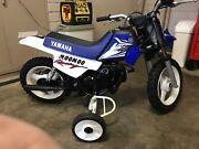 Pee wee 50 Yamaha traing wheels Erindale Burnside Area Preview