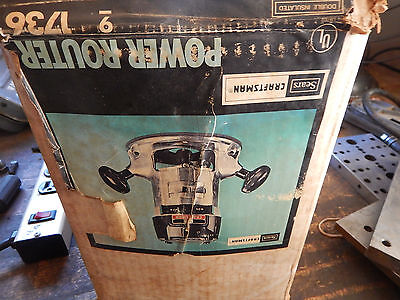 Vintage Craftsman Electric Router With Box 14 Collet
