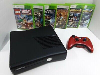 Microsoft Xbox 360 S Lego Games Bundle