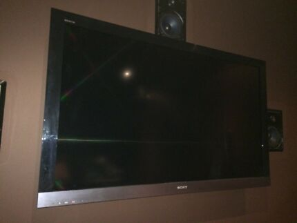 "Sony Bravia 55"" LCD Perfect for Wall Mount!"