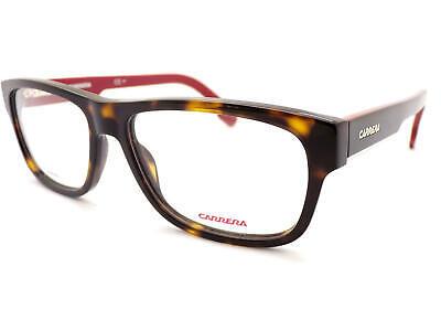 Carrera Herren Brown Havana Schwarz Rot 56mm Optisch Brillengestell 1102/V 581