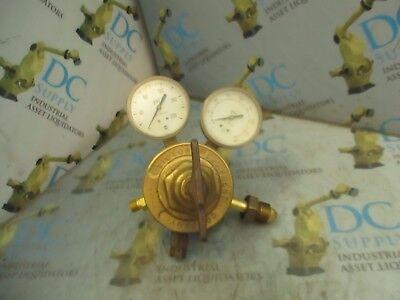 Victor Equipment Company Vts 450d Compressed Gas Regulator W Gauges 1