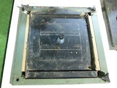 Vastex Screen Printing Press Equipment Hold Down Platen Pallet Parts Lot