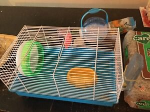 Critter cage and accessories