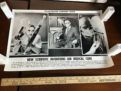 Illustrated Current News Photo - Scientific Inventions Medical Care Heart Valve