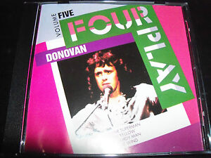 Donovan-Four-Play-rare-Australian-4-Track-CD-EP-Sunshine-Superman-Mellow-Yellow