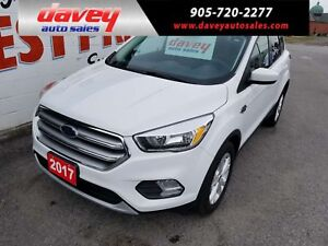 2017 Ford Escape SE 4X4, BACK UP CAMERA, HEATED SEATS