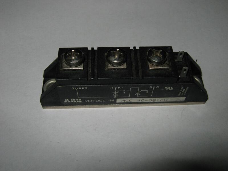 ABB Diode, SCR Module, MCC40-08IO8, New