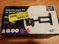 Monitor TV wall mount tiltable with swivel