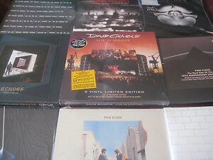 PINK-FLOYD-Waters-Gilmour-31-LP-FACTORY-MANY-OUT-OF-PRINT-EDITIONS-Sealed-Set