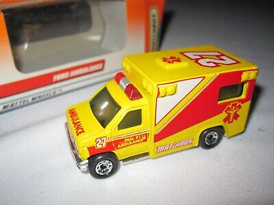 Matchbox Ford Ambulance The Great Bloomsburg Fair 1998