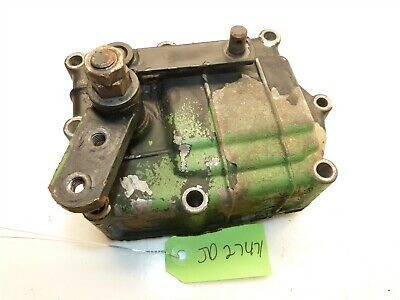 John Deere 855 856 Tractor Transaxle Hydraulic Control Valve Cover Housing for sale  Shipping to India