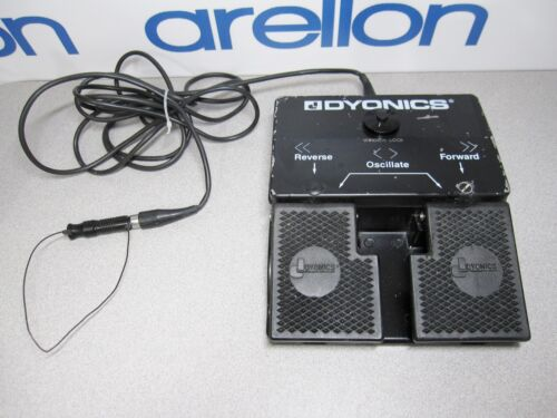 DYONICS 6900660 Footswitch w/Forward, Reverse, Oscillate, Window Lock Foot Pedal