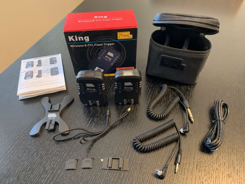 Pixel King Wireless E-TTL Flash Trigger for Canon