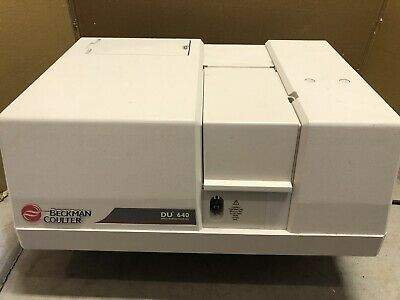 Beckman Coulter Du-640 Spectrophotometer With Cuvette Holder